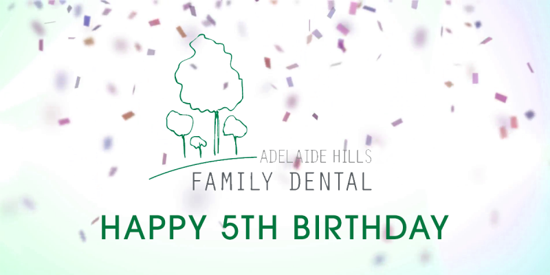 In November this year Adelaide Hills Family Dental celebrates its 5th Birthday